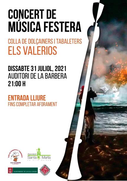 Concert de Música Festera (31 de Juliol)